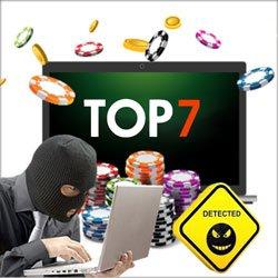 Top 7 des casinos accusés d